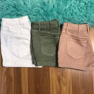 THREE Pairs of Mossimo Shorts